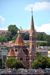 Calvinist church in the Buda disdrict of Budapest - Hungary.