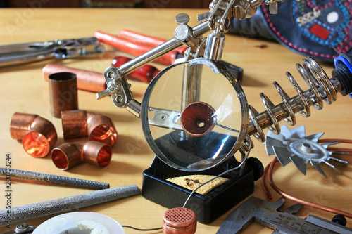 Soldering tools and tubes - 200733244