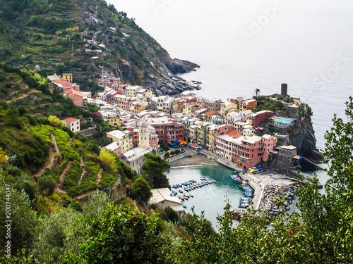 Cinque terre, vernazza, Italien, fischer, fischerhafen,