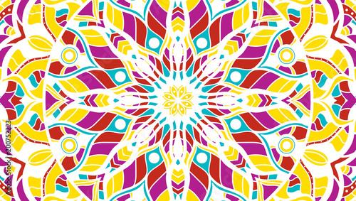 Abstract background of a mandala