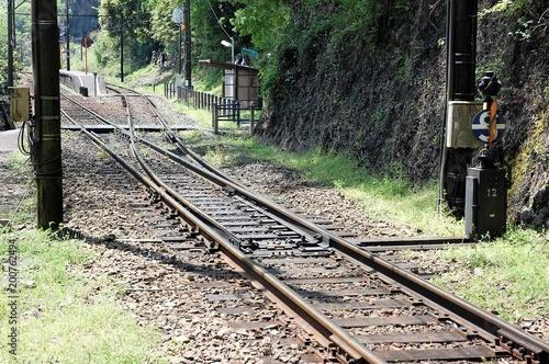 In de dag Spoorlijn スプリングポイント