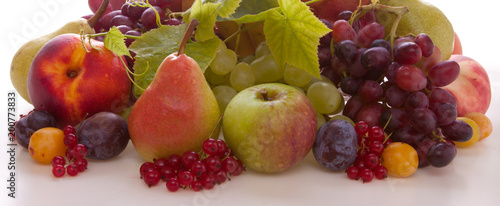 Different fruits isolated . - 200773833