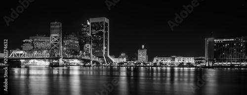 Jacksonville Florida Skyline at Night - 200774632