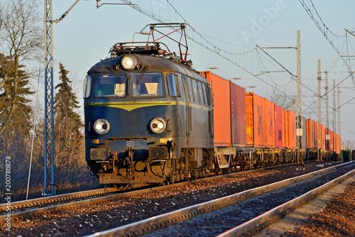 Fototapeta Train.