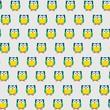 chouette, hibou, modèle enfantin, coloré, animaux, heureux, joyeux, pour les enfants - 200806674