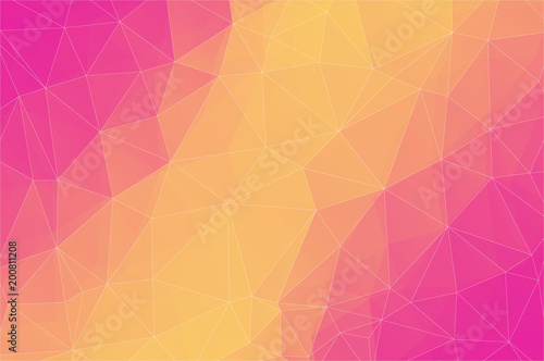 Aluminium Geometrische Achtergrond Abstract 2D triangle background