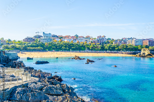 Cityscape of Santander, Spain