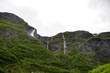 waterfalls in the fjords of Norway - 200817490
