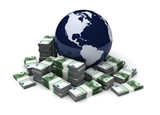 Global Business With Euro - 200819875
