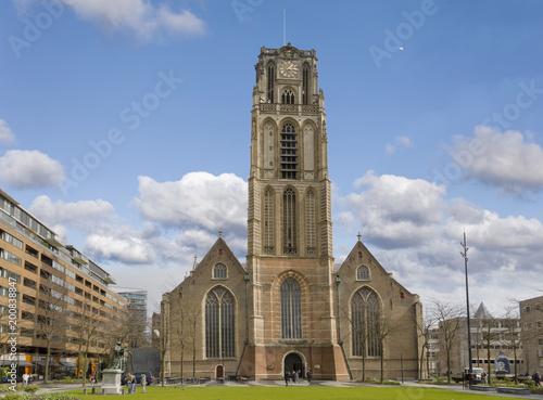 Foto Murales Laurenskirche in Rotterdamm