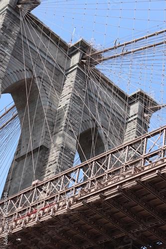 Fotobehang Bruggen New York City architecture