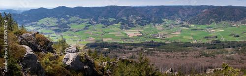 Zielona panorama Yspertal