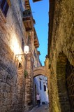 San Gimignano, Italy, Tuscany region. August 14 2016. The historic center of San Gimignano, a typical medieval village in Tuscany. Narrow streets, numerous stone towers characterize the urban landscap