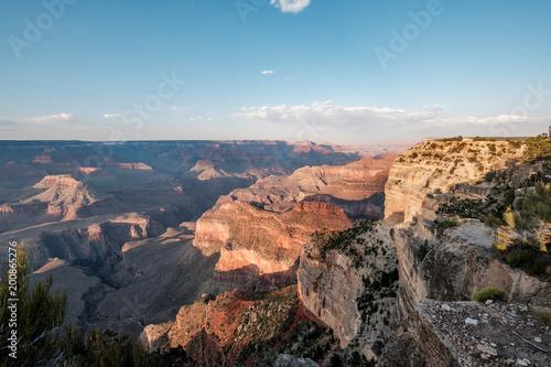 Fotobehang Blauw Grand Canyon landscape