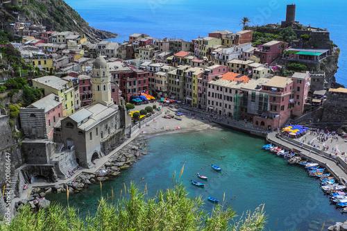 In de dag Liguria Italy liguria cinque terre vernazza