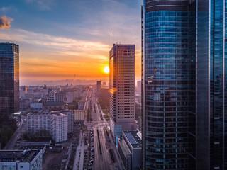 Warszawa o poranku