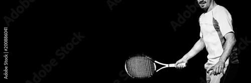Aluminium Tennis Tennisman