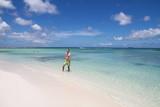 Homme plage aruba maillot vert