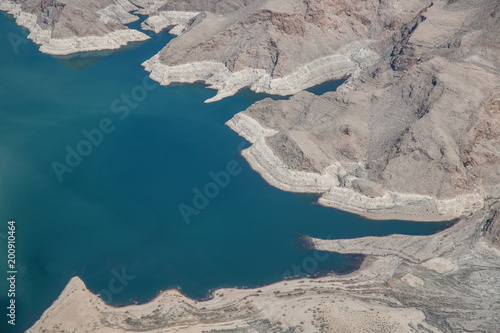 Plexiglas Donkergrijs Grand Canyon from the air