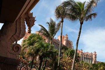 hotel Atlantis in the Bahamas