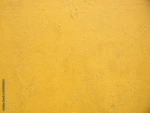 yellow wall close up