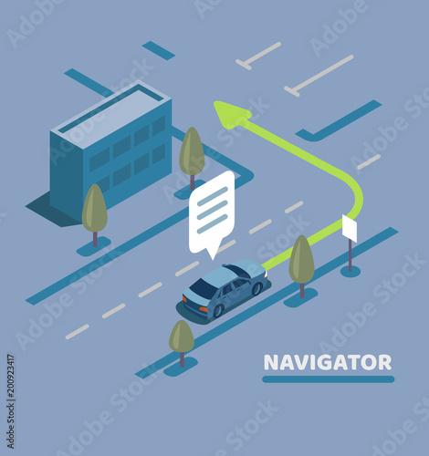 GPS Navigation Map