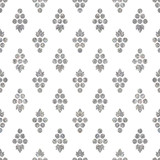 Silver textured seamless pattern of grapes