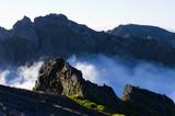 Pico Ruivo peak on Madeira island, Portugal