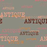 Antique typography pattern. Typography only series. Minimal graphics - 200932072