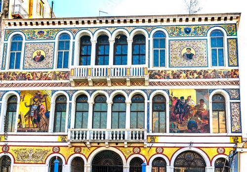 18th wiek Barbarigo pałac kanał grande Wenecja Włochy