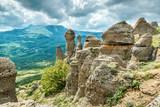 Rock formations of the Demerdji mountain, Crimea