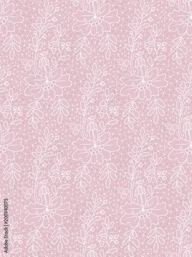 Floral lace pattern - 200940075