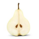 ripe half pears