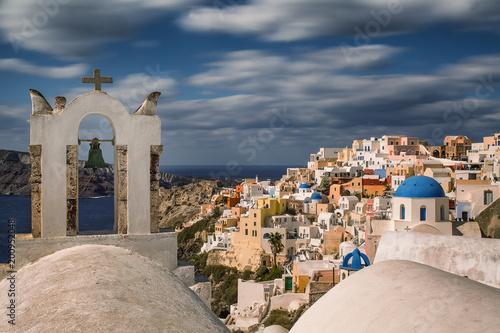 Cityscape of Oia, Santorini , Greece