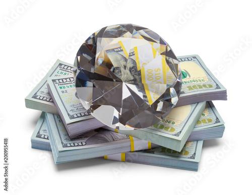 Diament z pieniędzmi