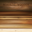 Realistic Wooden Textures Background