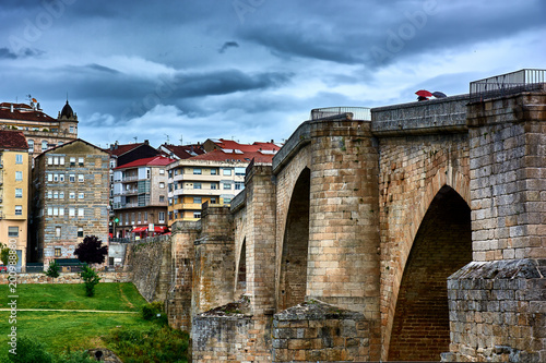 The Roman Bridge in Ourense