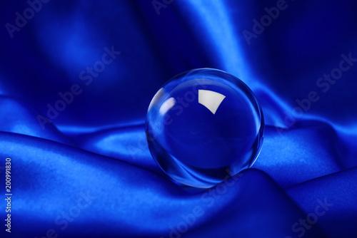 Fotobehang Bol glowing crystal ball