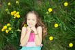 Child at summer