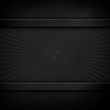 abstract black metal template background