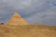 Egyptian pyramids in of Giza, Egypt