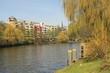 Frühling an der Spree in Berlin