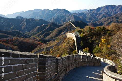 Foto op Plexiglas Peking the great wall of china, china, peking, wall, wall, great wall, nature, protection, mountains,