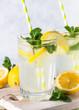 Lemonade summer cold drink.