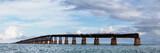 Bahia Honda Rail Bridge. Old railroad bridge in the lower Florida Keys