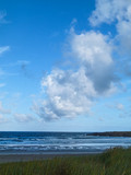 nuages au bord de mer
