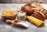 whole grain products with complex carbohydrates - 201055479