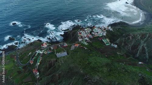 Village vue du ciel