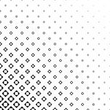 Abstract monochrome square pattern design - vector illustration