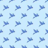 seamless parrot pattern - 201088617